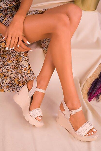Soho Exclusive Ten Kadın Dolgu Topuklu Ayakkabı 16122