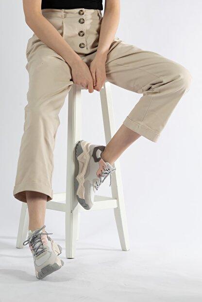 Tripy Kadın Dolgu Taban Günlük Sneaker Ayakkabı