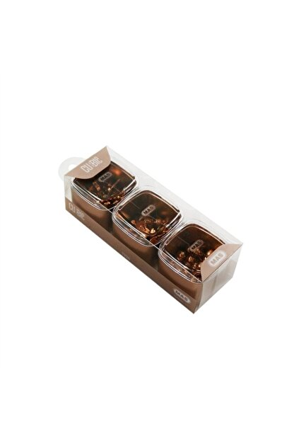 Mas 1336 Harita Çivisi 3 Lü Set Cubbie Premium Rose Gold