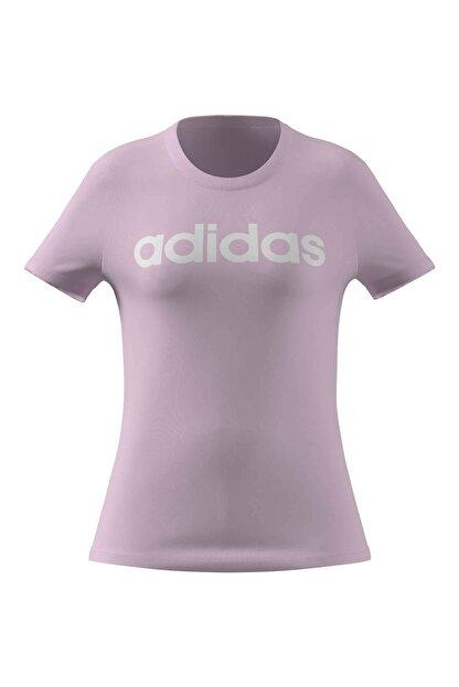 adidas T-shirt Kadın T-shirt Clpınk/whıte Gl0771