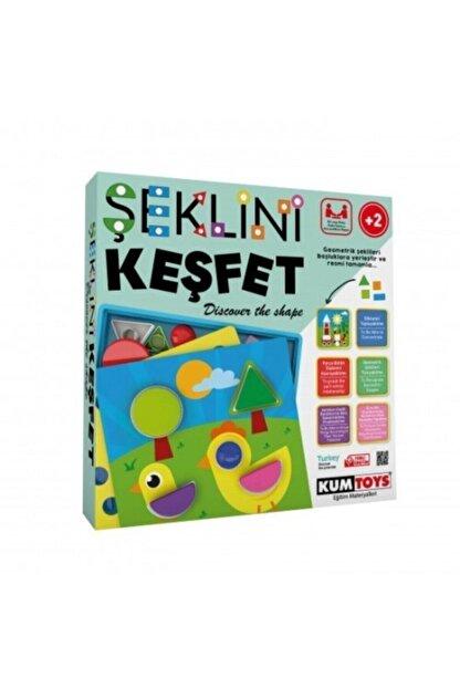 Redka/KumToys Redka Şeklini Keşfet Eğitici Oyun Yeni (+2 Yaş)
