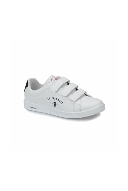 US Polo Assn SINGER Beyaz Kadın Sneaker Ayakkabı 100279016