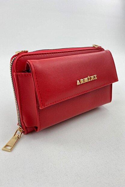 Armine El Çantası 21yd7014-06 Kırmızı