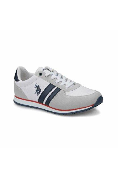 US Polo Assn U.s Polo Assn. Plus Beyaz Erkek Spor Ayakkabı 100248390