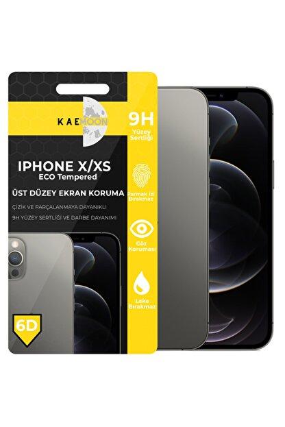 KaeMoon Iphone X/xs/11pro Uyumlu Tam Kaplayan Ekran Koruyucu Hd Netlikte Temperli Ekran Koruyucu