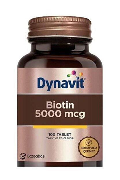 Dynavit Biotin 5000 mcg 100 Tablet