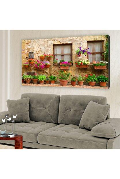hanhomeart Alaçatı Pencere Kanvas Tablo 60x120