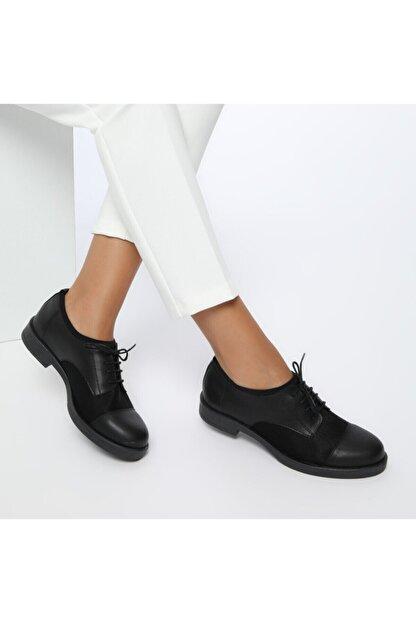 Missf Ds17037-19s Siyah Kadın Topuklu Ayakkabı 100352223