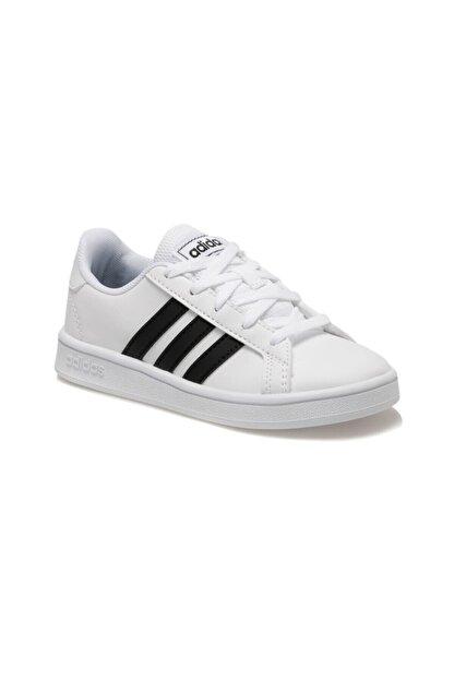 adidas Grand Court Beyaz Unisex Çocuk Sneaker