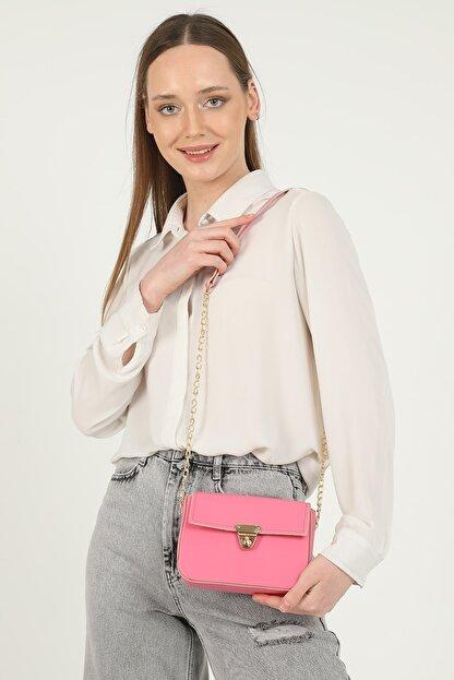 QOOL WOMEN Kadın Çanta Mini Baget