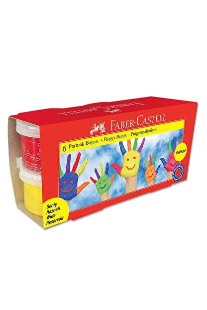 Faber Castell 6 Renk Parmak Boyası 6x45 ml.