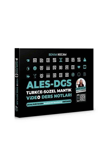 Benim Hocam Yayınları 2021 Ales Dgs Türkçe - Sözel Mantık Video Ders Notları