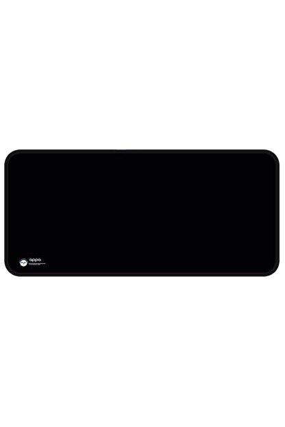 Appa Srf-888 Düz Siyah Oyuncu Mouse Pad 80x40 Cm Kaymaz Dikişli