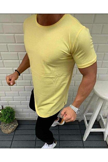 Oliggopol Erkek Basic Oval Uzun Tişört 6 Renk