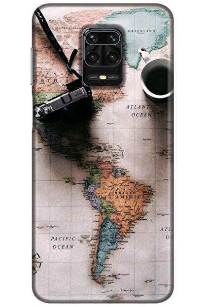 Turkiyecepaksesuar Xiaomi Redmi Note 9s Kılıf Silikon Baskılı Desenli Arka Kapak