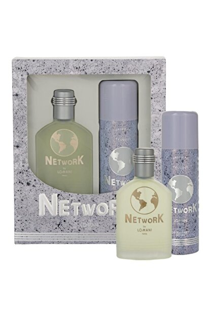 Network Edt 100 ml Erkek Parfüm Seti