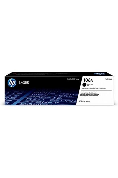 HP Hp W1106a Black Toner Kartuş (106a) Orijinal