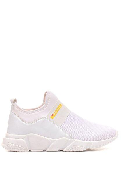 Bulldozer 201411 Beyaz Erkek Spor Ayakkabı