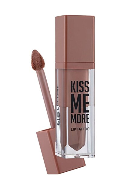 Flormar Kiss Me More Lip Tattoo Açık Pembe Nude Ruj 002 8690604572823