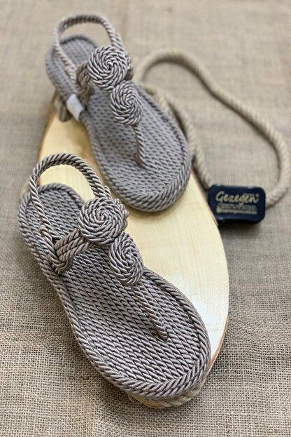 Shoe Miss Elena Hasır Sandalet