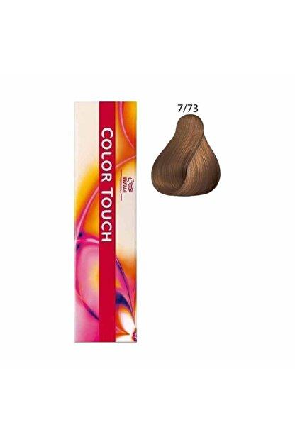 Wella Color Touch Saç Boyası 7/73 Orta Kahve Altın 60 Ml