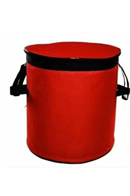 Emroto Nissan Qashqai 2014 Oto Soğuk Ve Sıcak Tutucu Bagaj Buzluk Çanta 50 Lt Kırmızı