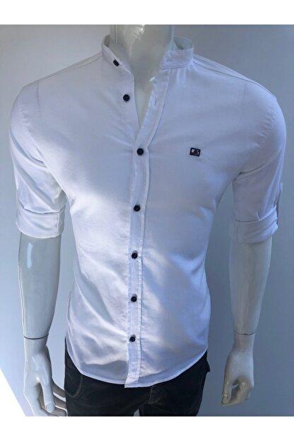 JİYAN Erkek Beyaz Gömlek
