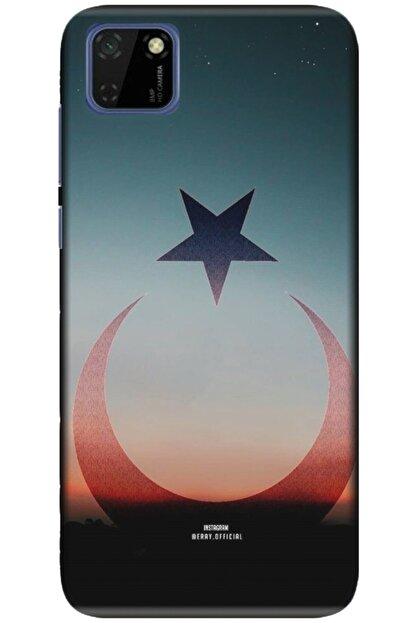 Turkiyecepaksesuar Huawei Y5p Kılıf Silikon Baskılı Desenli Arka Kapak