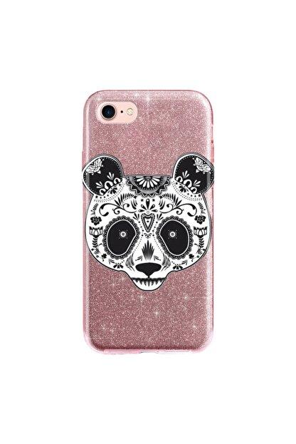 cupcase Iphone 6s Plus Kılıf Simli Parlak Kapak Pembe Rose Gold - Stok518 - Pandass