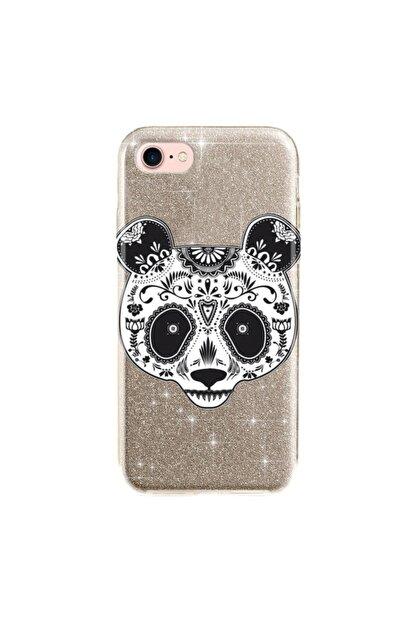 cupcase Iphone 6s Plus Kılıf Simli Parlak Kapak Altın Gold Renk - Stok518 - Pandass