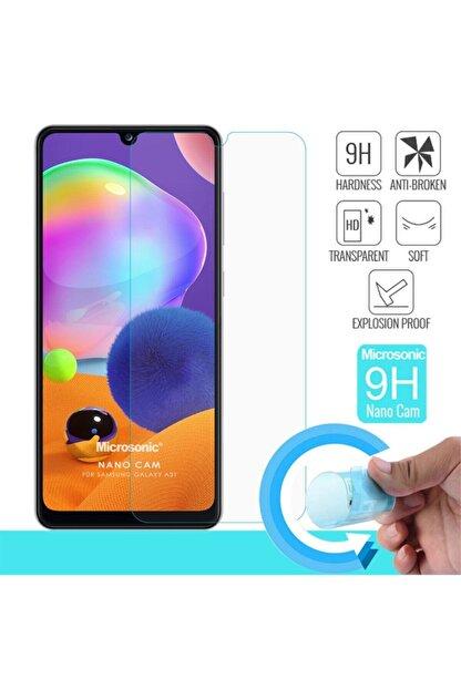 Samsung Galaxy A31 Ekran Koruyucu *hd Kırılmaz Esnek Nano Cam Film Screensaver