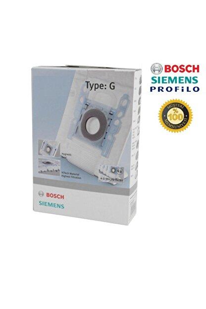 Bosch - Siemens G Tipi Süpürge Toz Torbası (kutulu) Beyaz