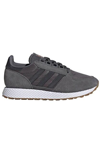adidas Kadın Gri Forest Grove Günlük Spor Ayakkabı Ee5846