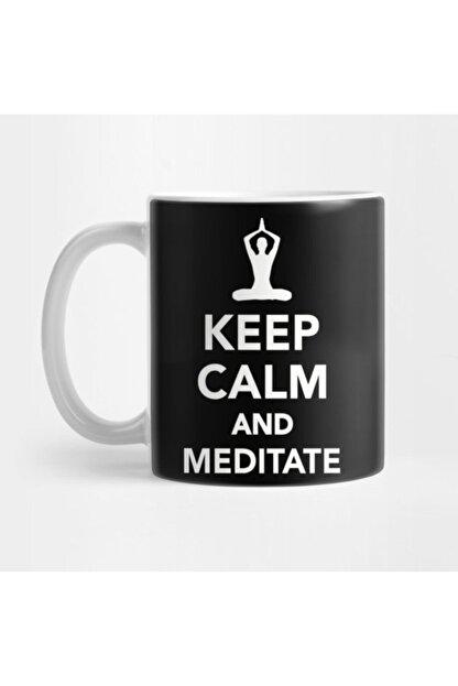 TatFast Keep Calm And Meditate Kupa