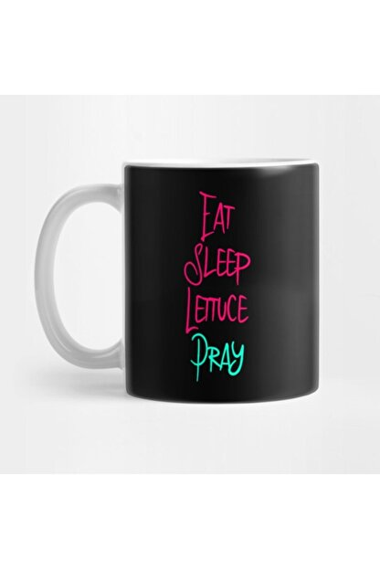 TatFast Eat Sleep Lettuce Pray Funny Religious Biblical Humor Kupa