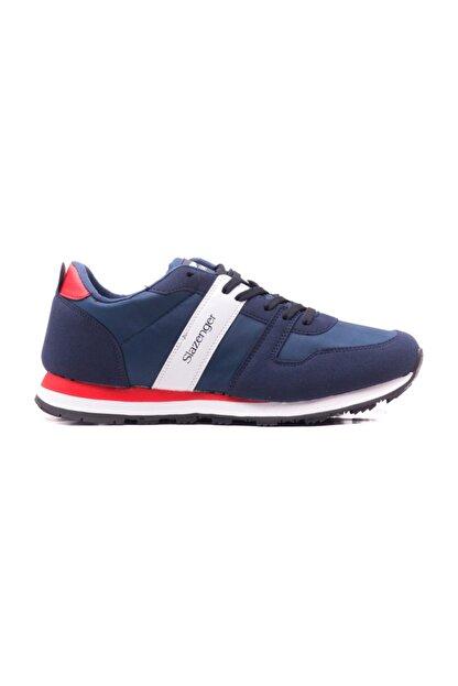 Slazenger Erkek Lacivert Yürüyüş Ayakkabısı