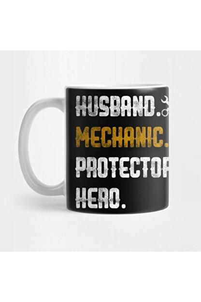 TatFast Mens Husband Mechanic Protector Hero Garage Handyman Father's Day Kupa