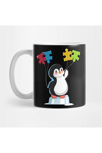TatFast Cute Funny Penguin Autism Awareness Kupa