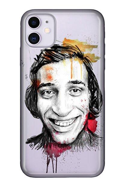 """Cekuonline Iphone 12 Mini 5.4"""" Tıpalı Kamera Korumalı Silikon Kılıf - Şaban"""