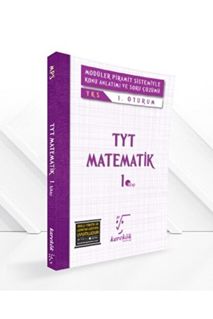 DIGERUI Tyt Matematik Mps Konu Anlatımlı Soru Bankası 1. Kitap Karekök Yayınları