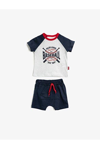 Koton Erkek Bebek Lacivert Bebek Takımları 1YNB14485OK