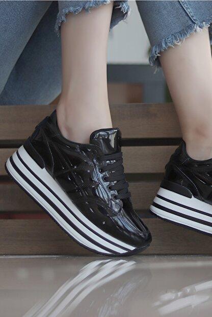 TRENDBU AYAKKABI Siyah Kadın Sneaker SPOR7072