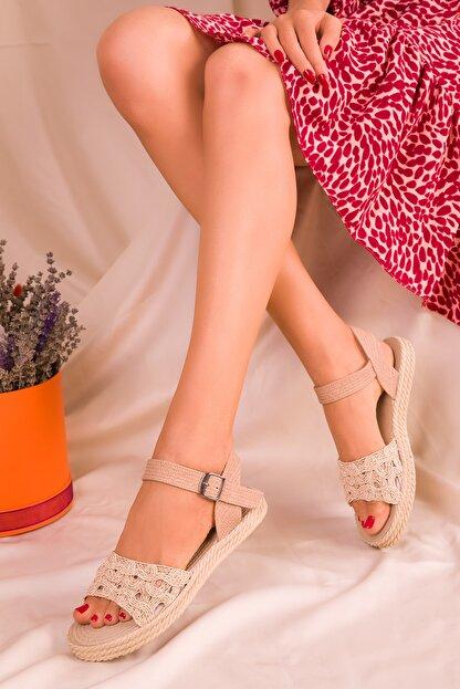 Soho Exclusive Ten Kadın Sandalet 15983