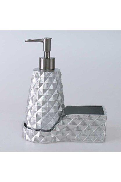 By Selim Gümüş Renkli Piramit Mutfak Sıvı Sabunluk