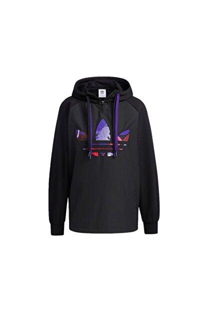 adidas Kadın Günlük Sweatshirts Gn4736 Siyah Cny Hoody