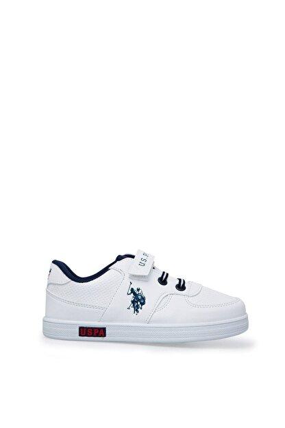US Polo Assn Cameron Beyaz Erkek Çocuk Sneaker Ayakkabı 100380400