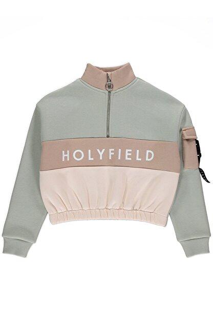 holyfield Kız Çocuk 3 Ip Kışlık Crop Sweatshirt