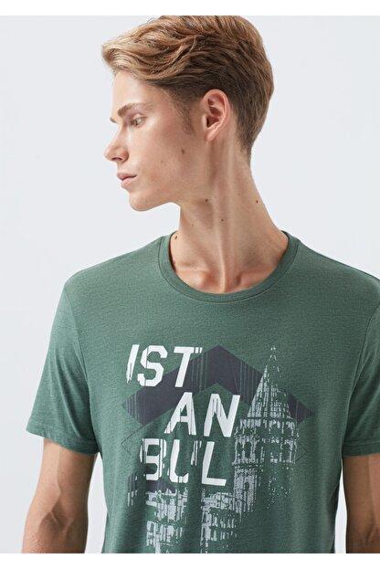 Mavi Yeşil İstanbul Tişört