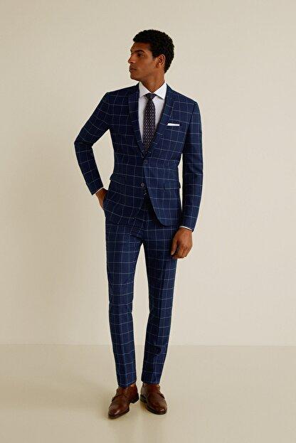 Mango Erkek Mavi Pantolon 43053714