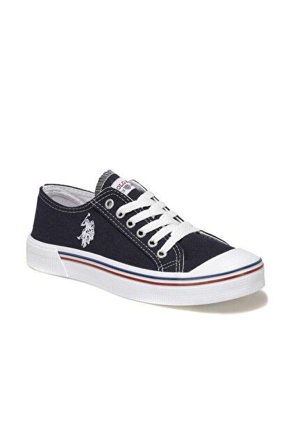 US Polo Assn PENELOPE 1FX Lacivert Kadın Havuz Taban Sneaker 100696335